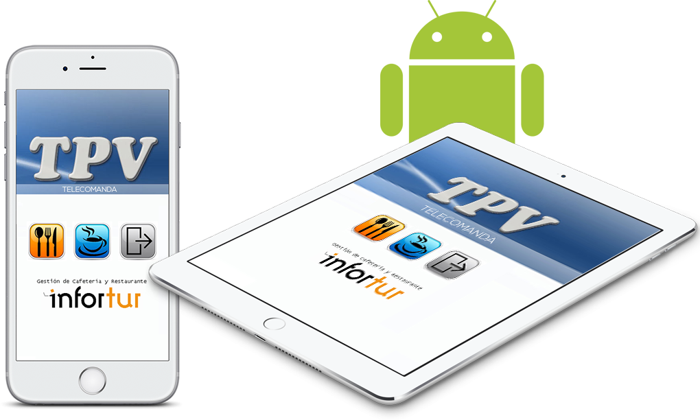 TPV Telecomanda android smartphone y tablet